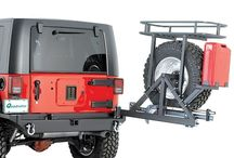 TJ Spare Tyre Carrier