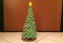 albero di Natale uncinetto