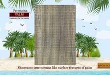 Natural Palm Veneers / Experiencing The True Intensity