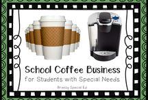 school coffee cart ideas