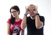 Kim są Podróżniccy? / Ania i Jakub Górniccy - jesteśmy autorami bloga Podróżniccy.com. Na tej tablicy wklejamy różne rzeczy o nas. Miło nam Ciępoznać :)