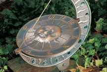Garden Sundial Time» / would love a sundial in my garden that is modern, a talking point and more importantly, actually tells the correct time! / by Francesca Gibbs
