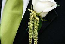 Lapel Pocket and Tie
