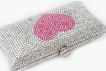 Crystal Couture Clutch Bags / Diamanté Crystal Couture Clutch Bags by Crystal Couture.com