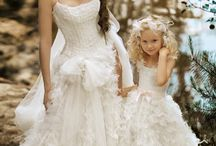 Bride & Flower girl / by Sharon's Bridal