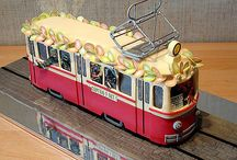 Projects to try- Tram cake