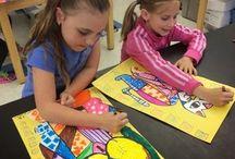 Art camps children / art projects for summer art camps