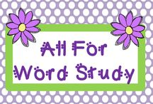 All for Word Study / This board is a collaborative board for Word Study pins only.  Feel free to include word family sets, vocabulary ideas, spelling activities, and anything used for word building. ***New Rules*** (3 free:1 paid ratio required)