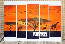 Cards - African