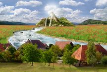 matte painting / my works