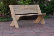 Ławki  i krzesła