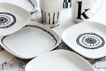 Porcelain drawings
