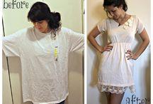 T shirt remodel