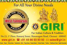 GIRI's new branch @ Tambaram coming soon / Our new branch @ tambaram starts from 12th JUNE 2015