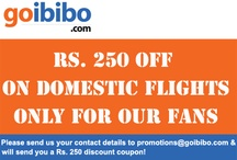 Special discount of Rs. 250 on Domestic Flight Tickets