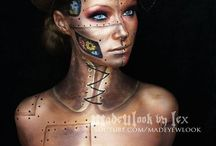 steampunk make up