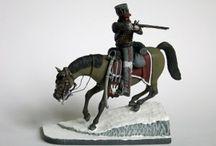 Modeles, figures and dioramas