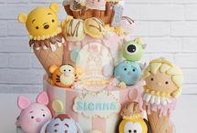 tsum tsum cake idea