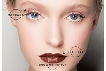 ☾ ☼ 90's Makeup / Lip Trend ☾ ☼ / 90's makeup trends. Brown lips. Thick brows. Kylie Jenner lipstick.