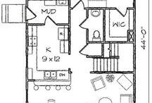 Cottage plan parts...