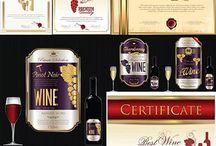 Wine Premium Label Design