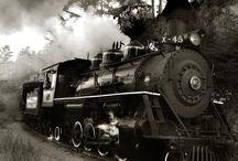 buharlı tren
