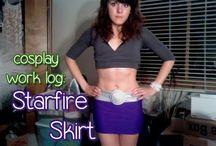 Starfire cosplay help