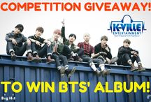 K-Pop Competitions & Giveaways!