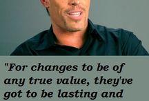 Tony Robbins Quotes / by Tina DeSanto-Kearns
