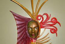 Deri Mask-leather mask / Deri mask yapımı