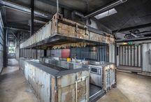 Industrial restaurant ideas