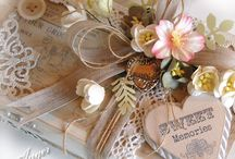 Box decor and pretty things