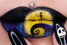 make up lips