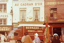 LES HALLES de PARIS et RUNGIS M.I.N. / Historie plaats uit mijn tijd als chauffeur op een vleeswagen ,veel gelachen ,gegeten in de vele super resto,s aldaar!!