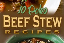 Paleo Beef Recipes / There is nothing like tasty cooked beef the paleo way. / by Lisa Rizzi