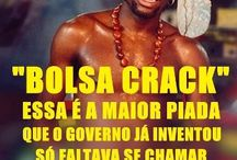 Brasil (Bolsa Família e outras) / Charges, frases, textos e quadros sobre Bolsa Família e outras.