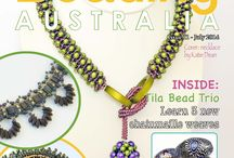 Issue 11, Digital Beading Magazine / Issue 11 of Digital Beading Magazine - full of beautiful beaded projects for you to create!