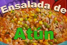 Our Salads videos / The freshness of the Mexican Salads.