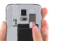 Utskifting av Samsung Galaxy S5 SIM-kort