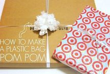Gift Ideas / Ideas for DIY Gift wrap, gifts and decorations