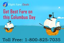 Columbusday Airline tickets / Columbus Day, which is on the second Monday of October, remembers Christopher Columbus' arrival to the Americas on October 12, 1492.
