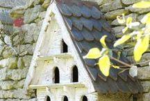 oiseaux, nichoirs....