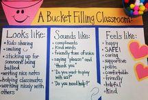 fill my bucket/friendship theme