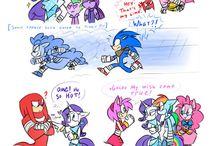 Sonic x pony