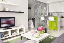 ...LIVING IN SMALL SPACES / Studios | Apartments !  Room |
