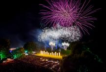 TRINITY COLLEGE CAMBRIDGE MAY BALL FIREWORKS 2014 / Titanium Fireworks multimedia pyromusical display for the Trinity College Cambridge May Ball 2014. The show was a precisely choreographed performance of fireworks, flames and moving lights.
