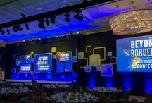 NACD 2014 @ Gaylord National / EVENTEQ provided set design, audio, video, lighting, LED, Digital Signage and Exhibitor Support for the seventh straight year.