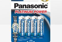 Panasonic Platinum Power Alkaline Batteries / Power all your devices with Panasonic Platinum Power alkaline batteries. Panasonic's AA and AAA Platinum Power alkaline battery cells protect power for up to 10 years, when unused and stored properly. These battery cells are formulated to provide peak performance for today's power hungry devices, such as radio controlled toys and game controllers. Platinum Power batteries are the perfect choice for all products that require long lasting battery life.