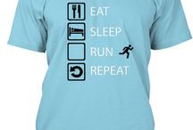 Eat-sleep-sports-repeat / T-shirts and hoodies for him and her