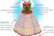 Polish folk art costumes / by Elaine Lanoue